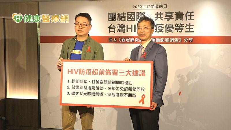 台灣HIV防疫交出好成績 新冠疫情中仍維持高篩治率