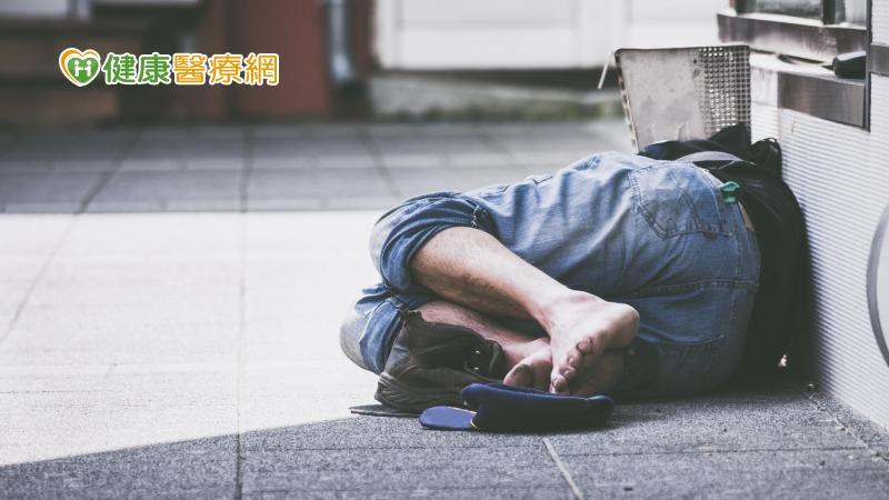 無家者困境 健康與經濟的惡性循環