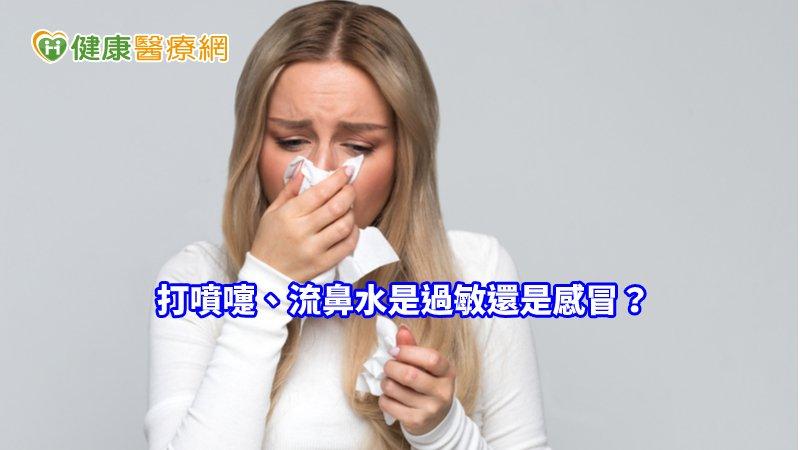 打噴嚏、流鼻水是過敏還是感冒? 2招分辨_內視鏡拉皮