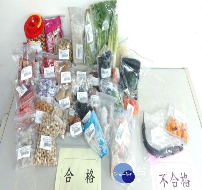 桃園抽驗年節食品 2件農藥殘留不符規定